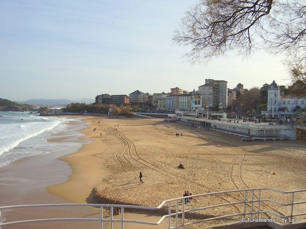 playa sardinero, santander