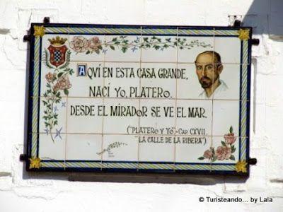 Platero y yo, Casa Natal Juan Ramon Jimenez