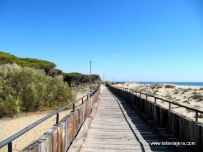 Senderos Parque Litoral, Islantilla, Huelva
