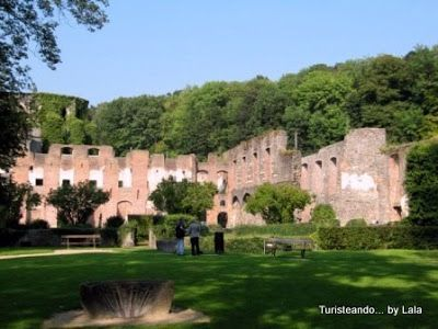 Abadia cisterciense Villers-la-Ville