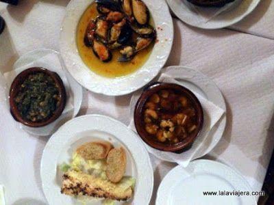 Tapas Restaurante La Plaza, Canillas Albaida