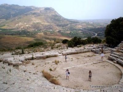 teatro griego segesta, sicilia