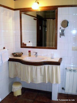 Baño Hotel Rural Casona Salceda, Cantabria