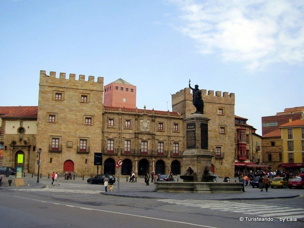 plaza marques, gijon