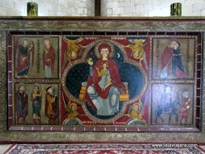 Pinturas Romanicas Altar Monasterio Lluca