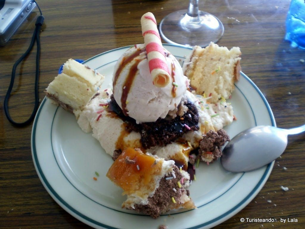 postre variado tartas