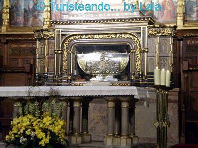 Reliquias San Isidoro, Leon