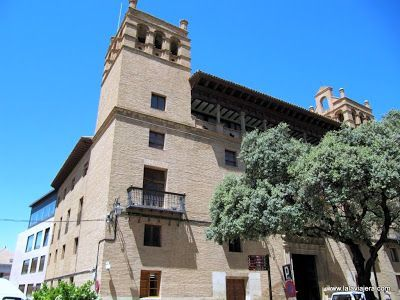 Ayuntamiento Huesca, palacio renacentista
