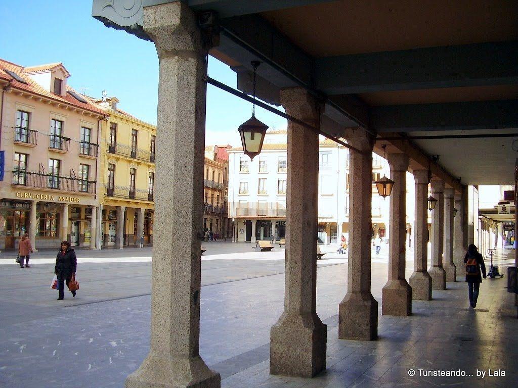 plaza mayor espana astorga