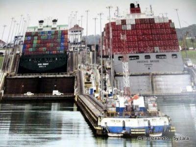Barcos Canal Panama