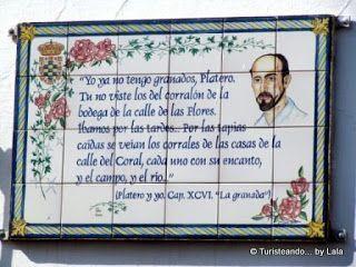 Ruta Literaria Juan Ramon Jimenez, Moguer