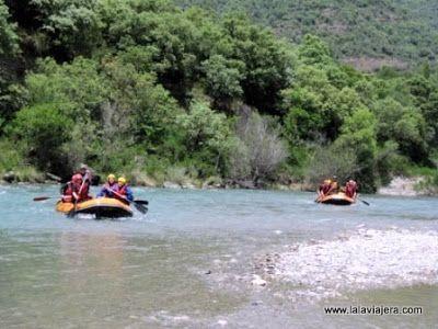 Rafting Rio Esera, Pirineos, Huesca