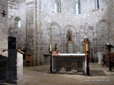 Romanico Lombardo en Monasterio Obarra, Ribagorza, Huesca