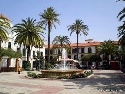 plaza espana, lepe