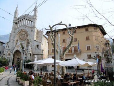 iglesia san bartolome y ayuntamiento soller