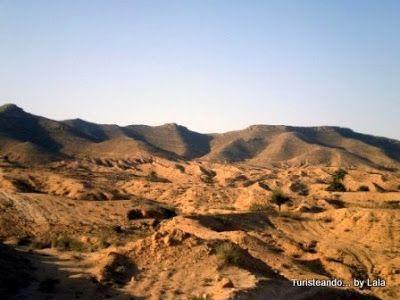Paisaje lunar del Dahar, Tunez