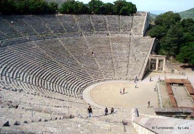 teatro epidauro, grecia