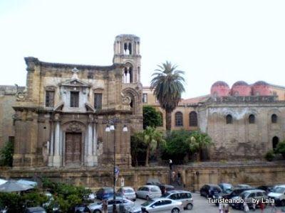 Iglesias La Martorana y San Cataldo, Palermo