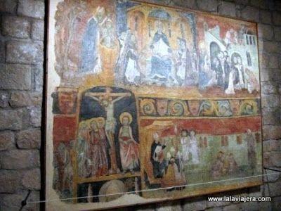 Pinturas Goticas Museo Monasterio Lluca